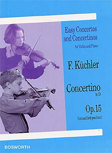 9783865435484: Ferdinand kuchler: concertino in d op.15 (violin/piano)