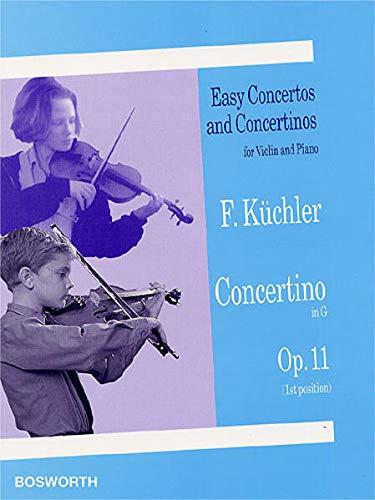 9783865435491: Ferdinand kuchler: concertino in g op.11 (violin/piano)