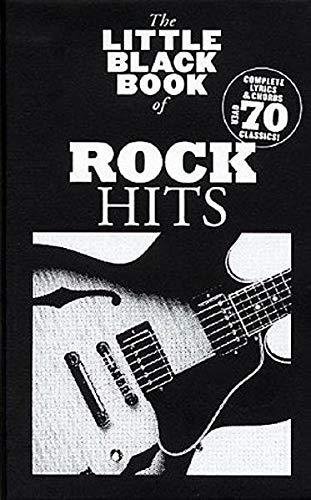 9783865436221: The Little Black Book Of Rock Hits. Partituras para Textos y Acordes(Pentagramas )