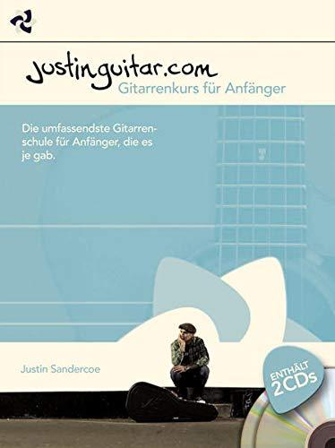 9783865437464: Justinguitar.com - Gitarrenkurs Für Anfänger