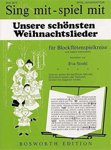 9783865437822: Unsere Schonsten Weihnachtslieder: Sechs Leichte Stucke Op.22