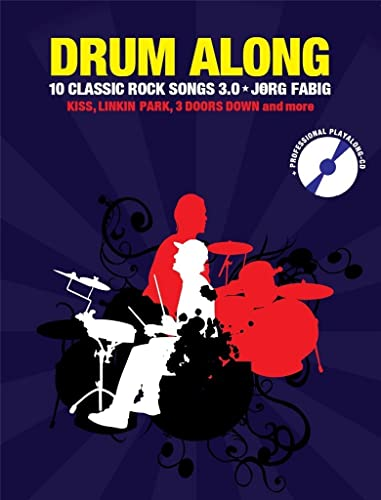 9783865439116: Drum Along 9-10 Classic Rock Songs 3.0