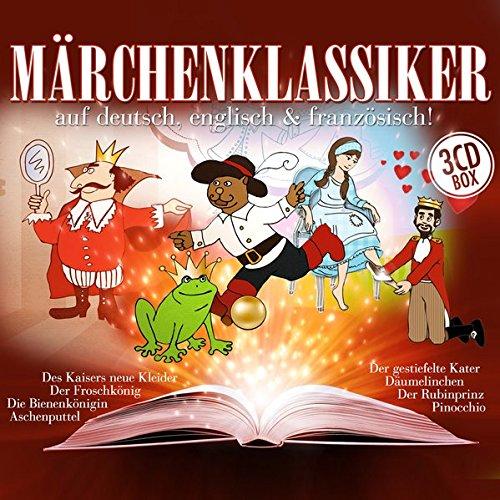 9783865499929: Märchenklassiker-auf deutsch, englisch, französich