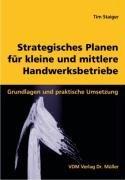 9783865501912: Strategisches Planen f�r kleine und mittlere Handwerksbetriebe