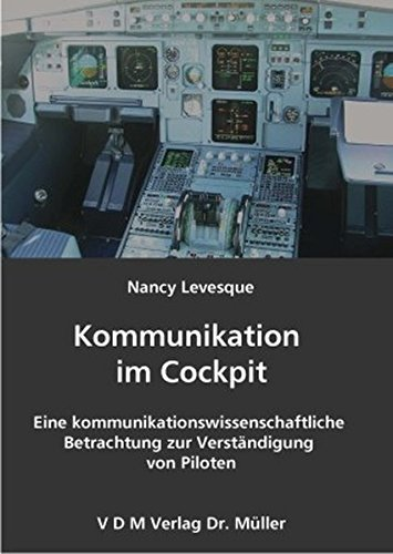 9783865503909: Kommunikation im Cockpit