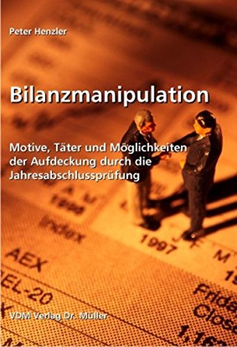 9783865504098: Bilanzmanipulation