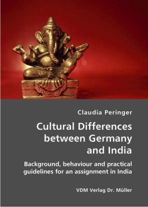 9783865506115: Cultural Differences between Germany and India