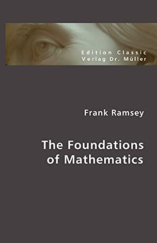 9783865508140: The Foundations of Mathematics