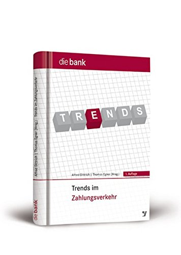 9783865562708: Trends im Zahlungsverkehr