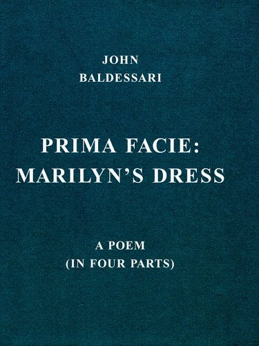9783865600882: John Baldessari: Prima Facie: Marilyn's Dress