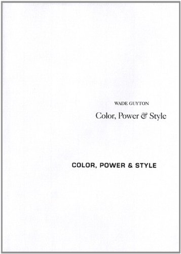 9783865600899: Wade Guyton: Color, Power & Style