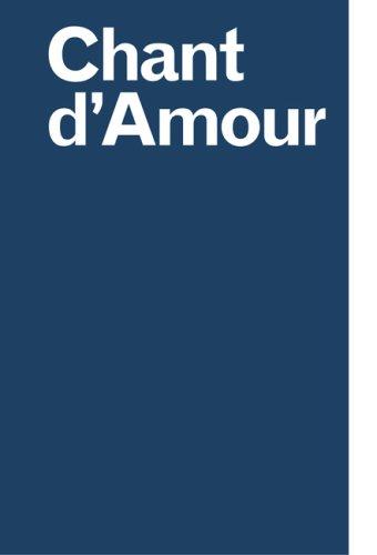 9783865604835: Chant d'Amour. Olaf Nicolai