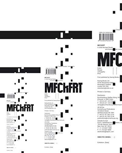 Michael Riedel: Meckert: Riedel, Michael