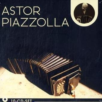 9783865627452: Astor Piazzolla, 10 Audio-CDs