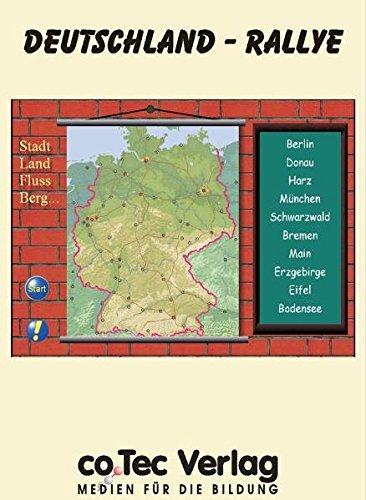 9783865630933: Deutschland Rallye. CD-ROM für Windows 98/NT/2000/XP [import allemand]