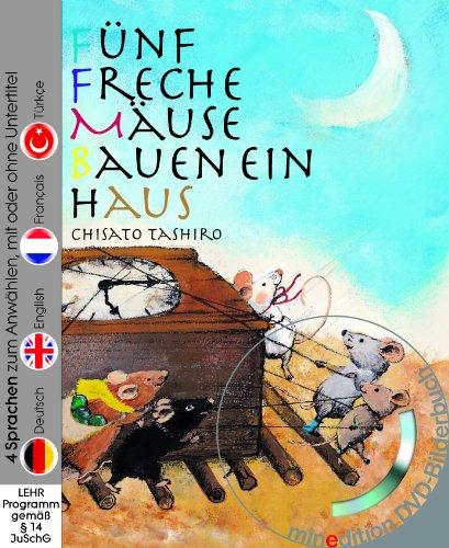 9783865665119 Funf Freche Mause Bauen Ein Haus Buch Mit Dvd 4