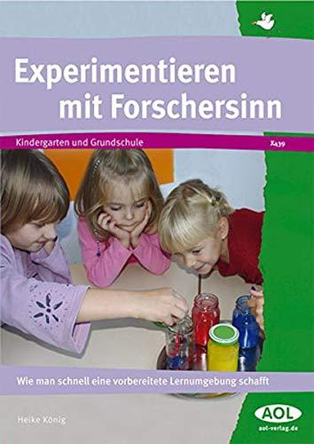 9783865674395: Experimentieren mit Forschersinn: Wie man schnell eine vorbereitete Lernumgebung schafft
