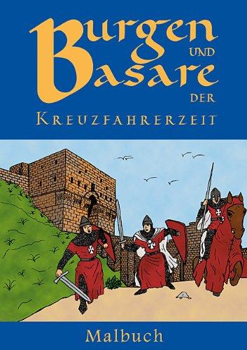 9783865680594: Malbuch Burgen und Basare