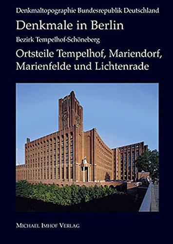 9783865681898: Denkmale in Berlin: Bezirk Tempelhof – Schöneberg