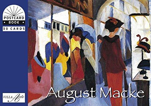 9783865712486: August Macke: Postkartenbuch