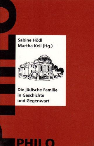 9783865721129: Die jüdische Familie in Geschichte und Gegenwart