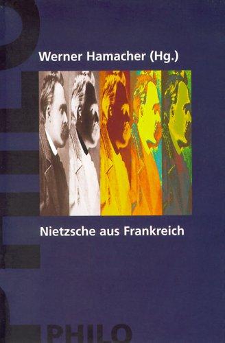 9783865723093: Nietzsche aus Frankreich