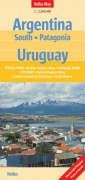 9783865740021: Argentina South and Uruguay Nelles Map