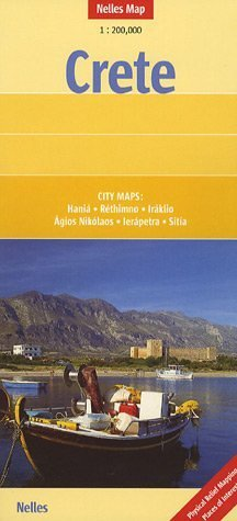 9783865740205: Crete Nelles Map (German, English and French Edition)