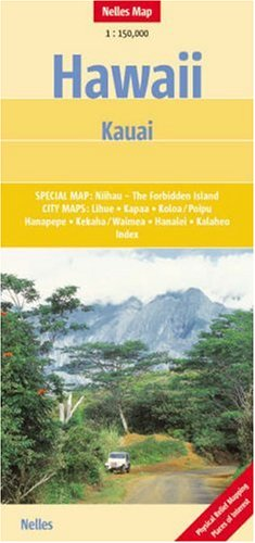 9783865740298: Kauai Map by Nelles (Nelles Maps) (English and German Edition)