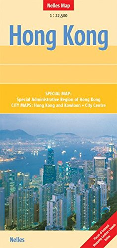 Hong Kong Travel Map
