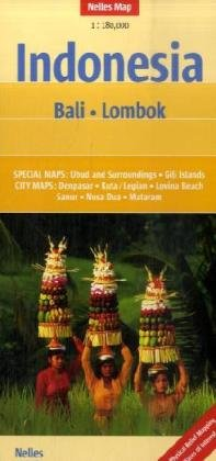 9783865740427: Nelles Bali Lombok Map (Nelles Maps) (English, Spanish, French and German Edition)