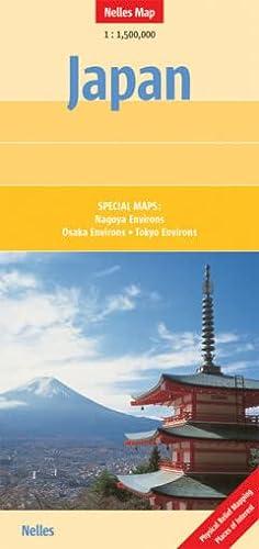 9783865740502: Japan Map by Nelles (Nelles Maps)