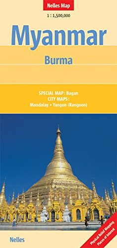 9783865740588: Myanmar - Burma Nelles Map (English, Spanish, French, Italian and German Edition)