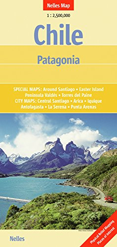 9783865740939: Chile and Patagonia Nelles Map (English and German Edition)