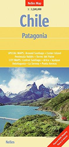 9783865740939: Chile Patagonia : 1/2 500 000