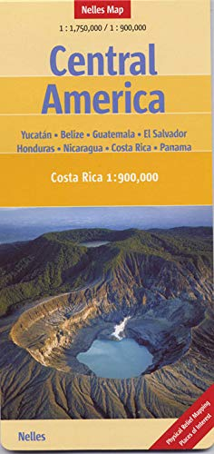 9783865742100: Central America Nelles Map (English, French, Italian and German Edition)