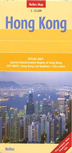9783865742285: Hong Kong Nelles Map (English, French, Italian and German Edition)