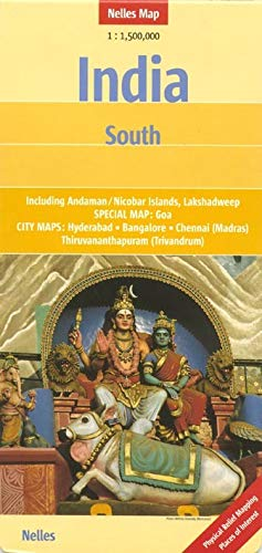 9783865742322: Southern India Nelles map (English, French and German Edition)