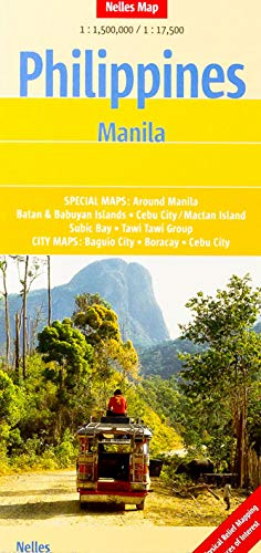 9783865742551: Philippines and Manila Nelles Map (English, French and German Edition)