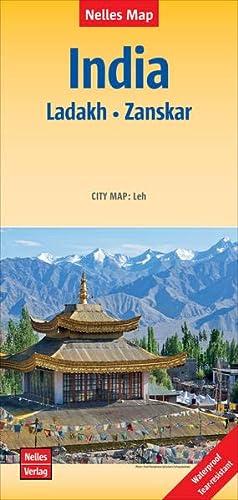 9783865742728: India Ladakh-Zanskar Nelles 2015 (English and German Edition)