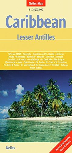 9783865742872: Caribbean Lesser Antilles Nelle 1:2.5M