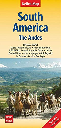 9783865744463: South America: The Andes 1:4.5M (2016) WATERPROOF