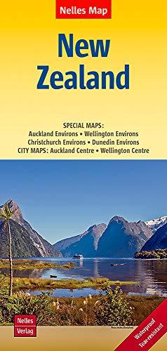 9783865745071: Nouvelle-Zélande : 1/1 250 000