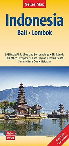 9783865745095: Bali / Lombok (Indonesia) Nelles Road Map 1:180K