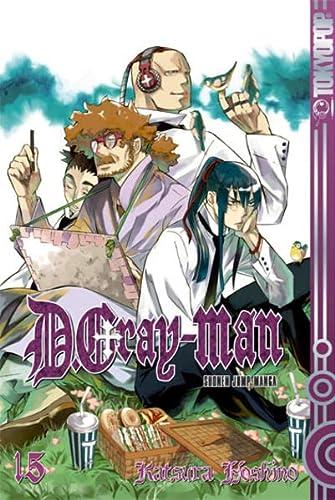 D.Gray-Man 15: Hoshino, Katsura
