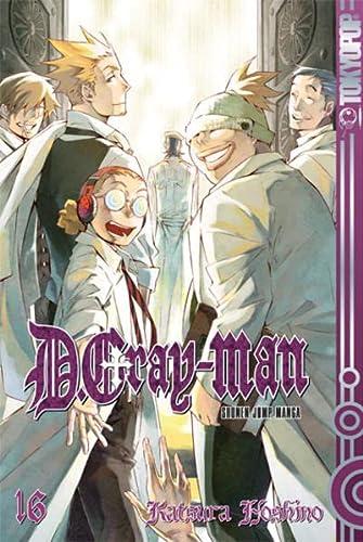 D.Gray-Man 16: Hoshino, Katsura