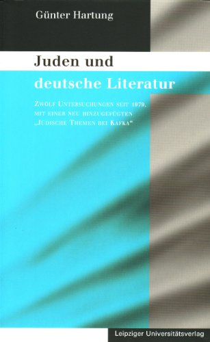 9783865830203: Juden und deutsche Literatur