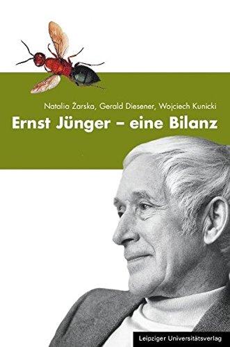 Ernst Jünger - Eine Bilanz: Natalia Zarska