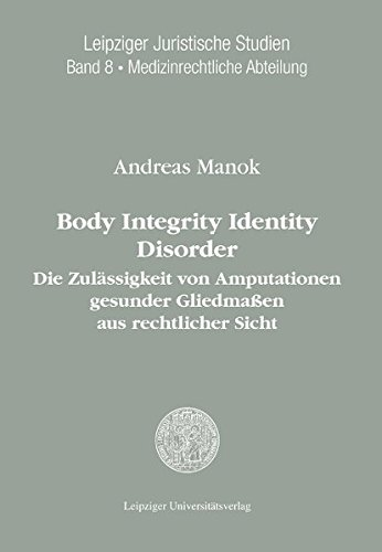 9783865836625: Body Integrity Identity Disorder