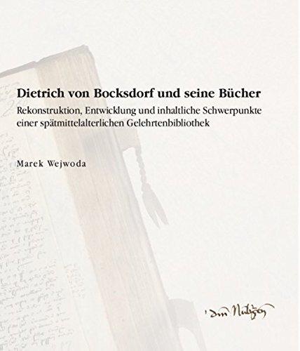 9783865837851: Dietrich von Bocksdorf und seine Bücher